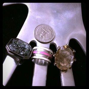 Rings rings Lia Sophia rings